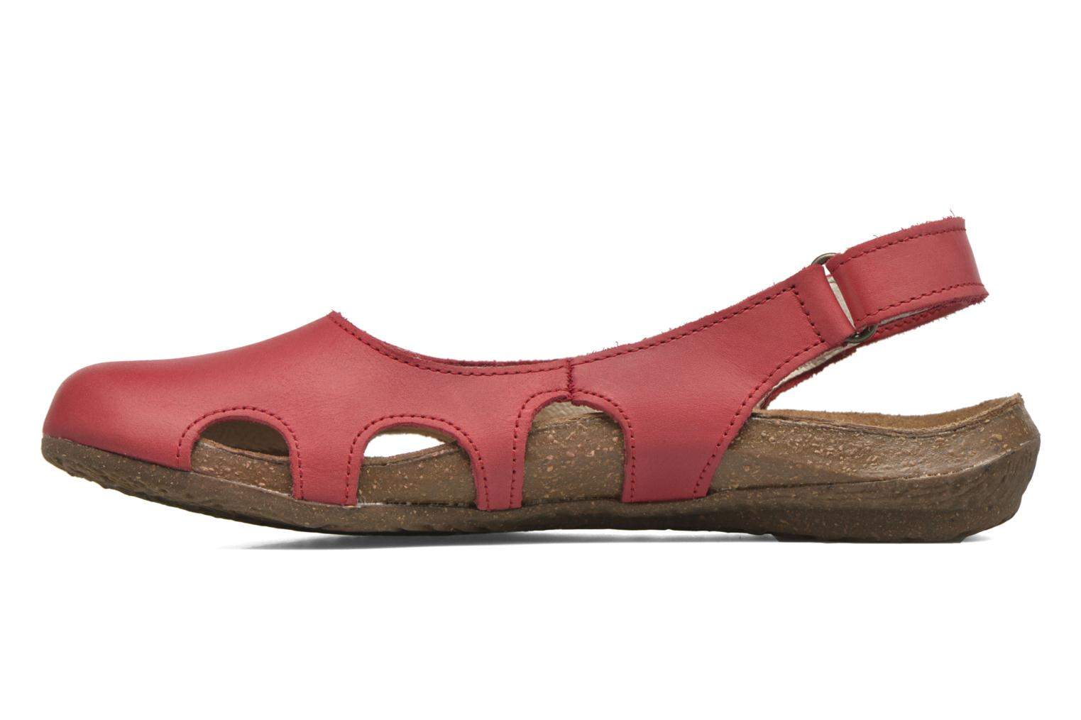Mules & clogs El Naturalista Wakataua N413 Red front view