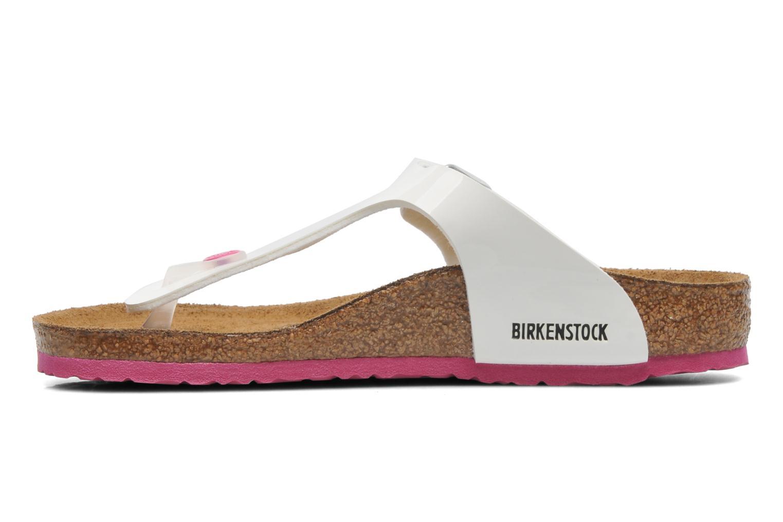 Flip flops Birkenstock GIZEH White front view