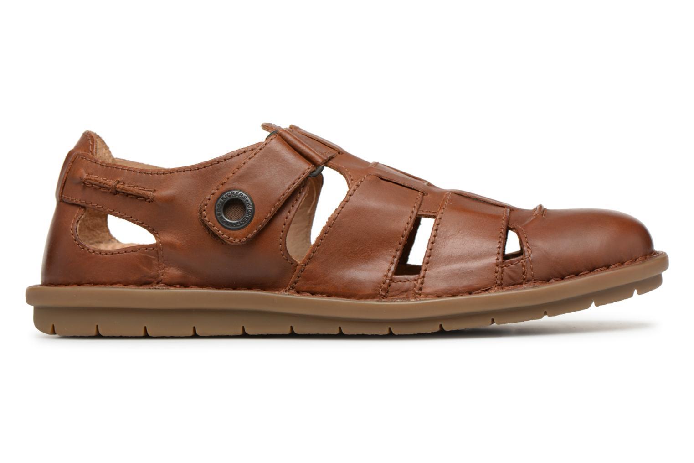 Sandales et nu-pieds Kickers Vidal Marron vue derrière