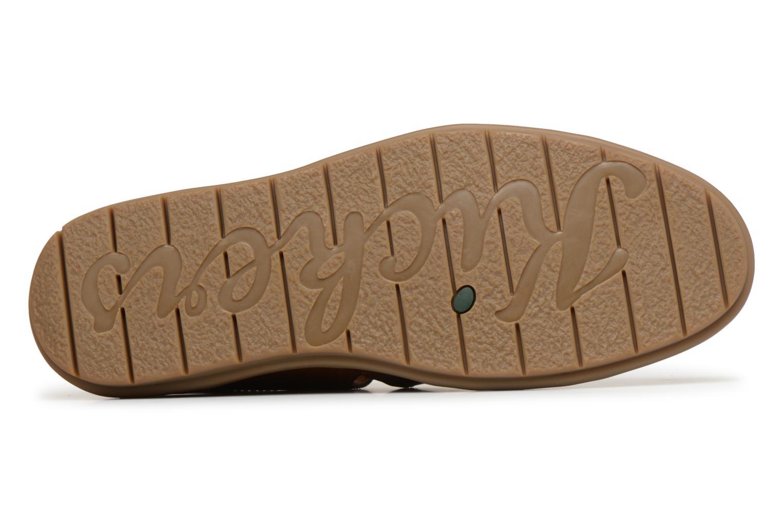 Sandales et nu-pieds Kickers Vidal Marron vue haut