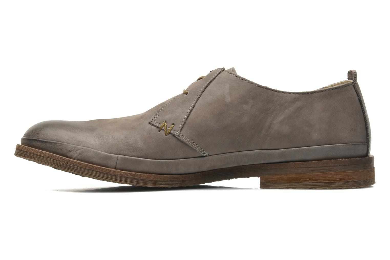Chaussures à lacets Kickers Flavis Gris vue portées chaussures