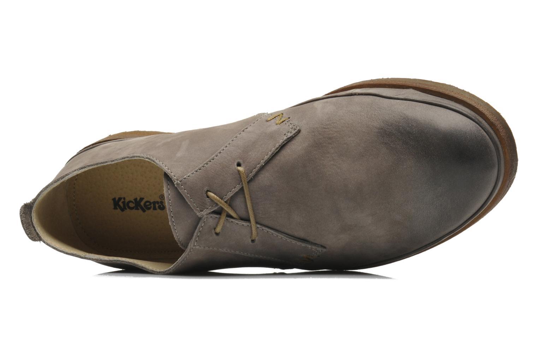 Chaussures à lacets Kickers Flavis Gris vue derrière