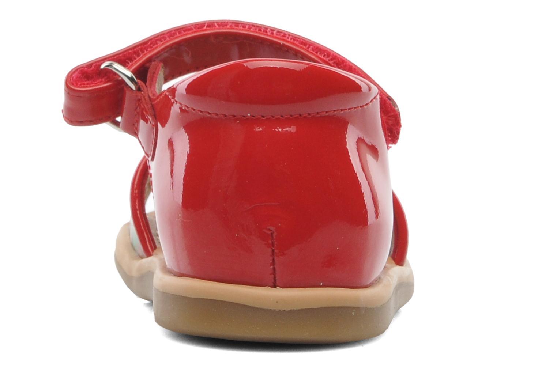 Sandales et nu-pieds Shoo Pom Tity Back Sandal Rouge vue droite