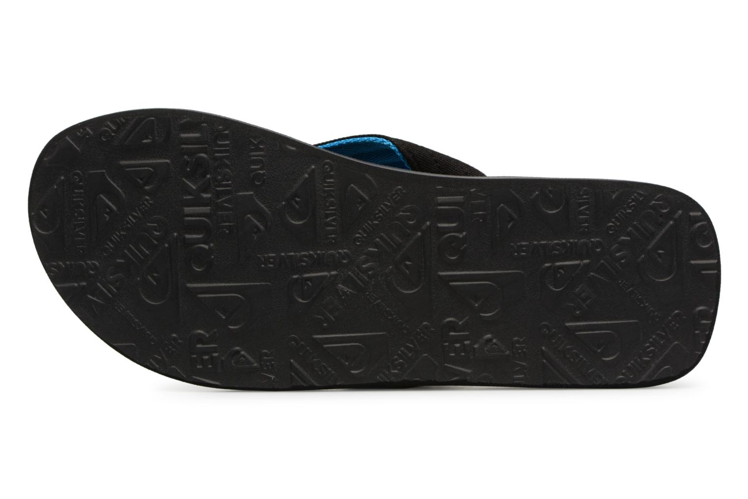 Flip flops Quiksilver Molokai layback Blue view from above