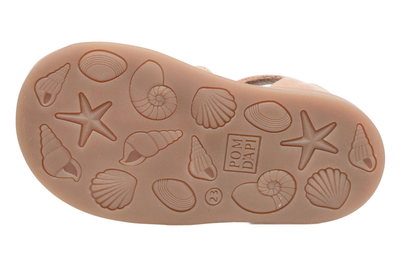 Sandales et nu-pieds Pom d Api POPPY APPLE Beige vue haut