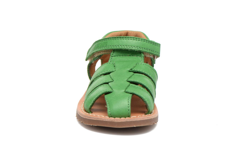 Sandali e scarpe aperte Pom d Api Waff Papy Verde modello indossato