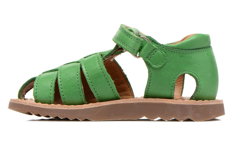 Sandali e scarpe aperte Pom d Api Waff Papy Verde immagine frontale