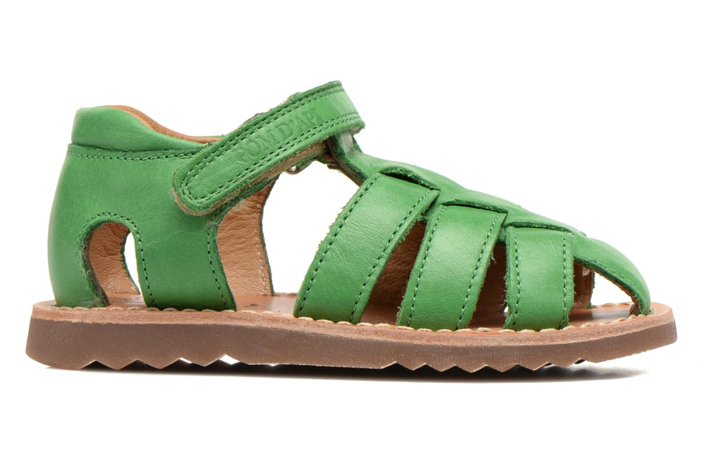 Sandali e scarpe aperte Pom d Api Waff Papy Verde immagine posteriore