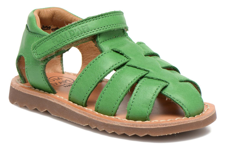 Sandali e scarpe aperte Pom d Api Waff Papy Verde vedi dettaglio/paio