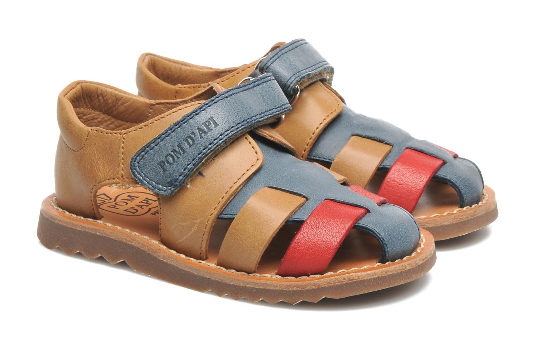 Sandals Pom d Api WAFF BOB Multicolor 3/4 view