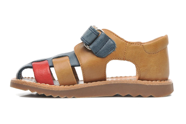 Sandals Pom d Api WAFF BOB Multicolor front view