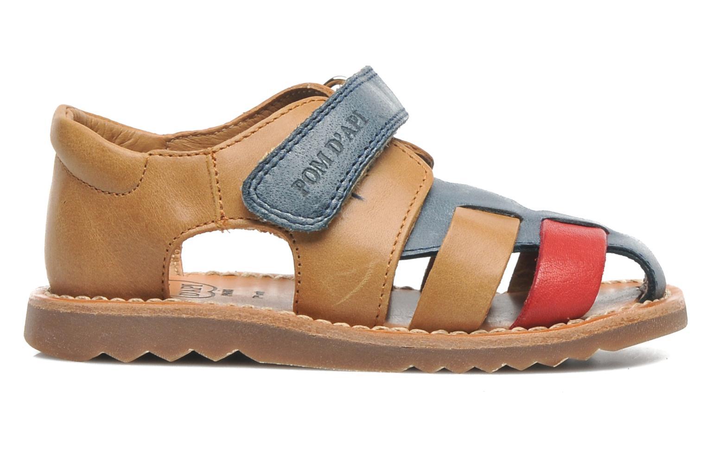 Sandals Pom d Api WAFF BOB Multicolor back view