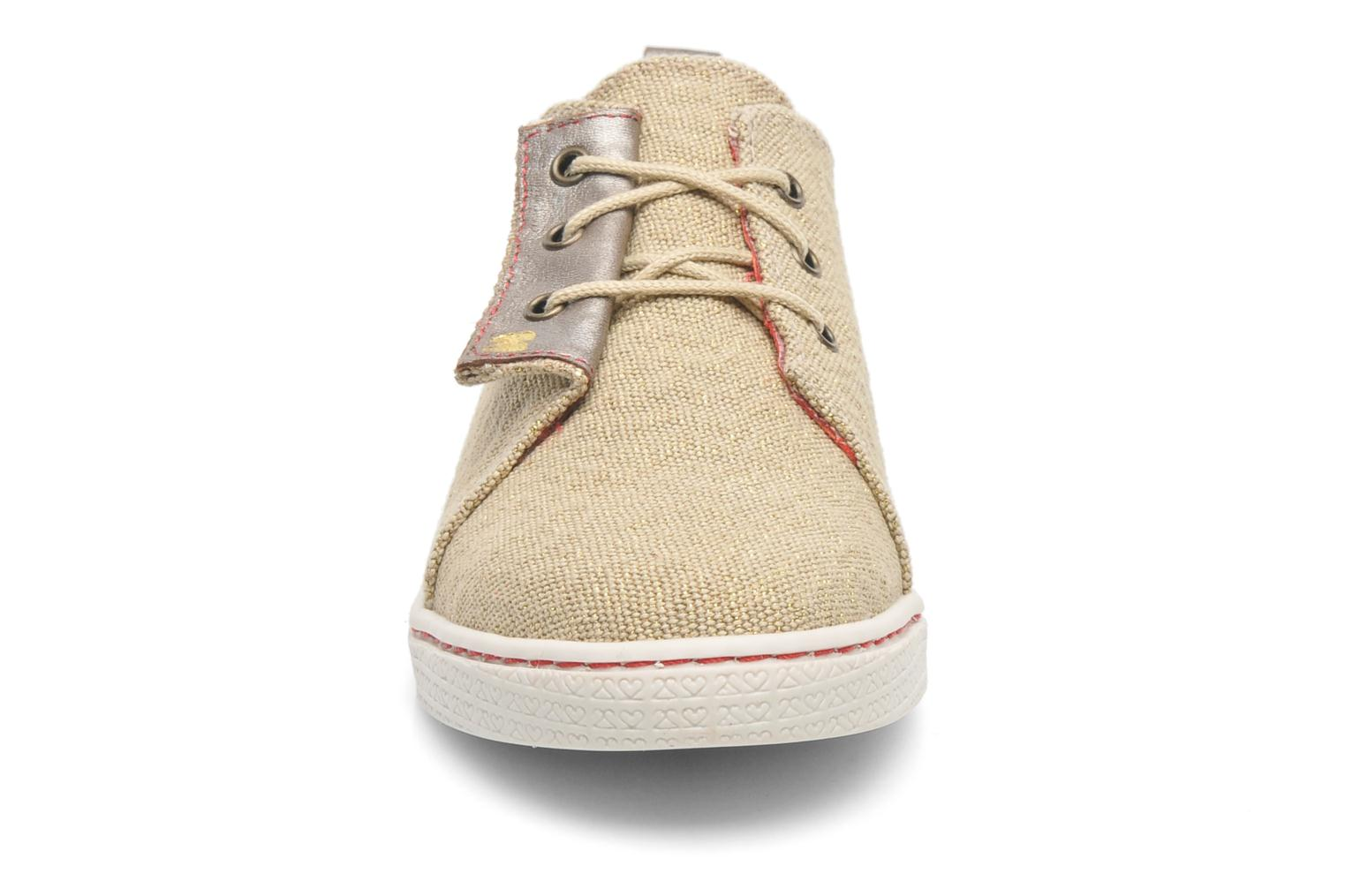 Sneakers 2 Side 2S - SWING Beige modello indossato