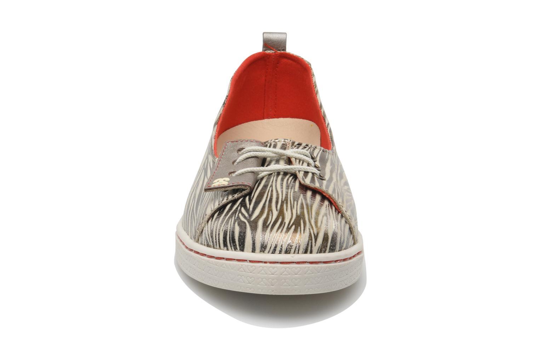 Ballerines 2 Side 2S - BAL Or et bronze vue portées chaussures