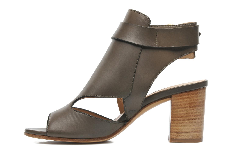 Sandales et nu-pieds Rebecca Balducci Athena Vert vue face