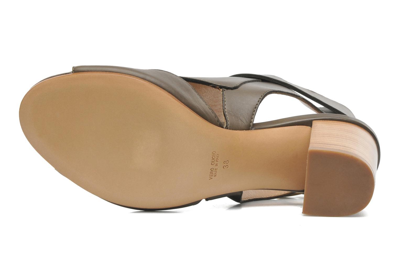 Sandales et nu-pieds Rebecca Balducci Athena Vert vue haut
