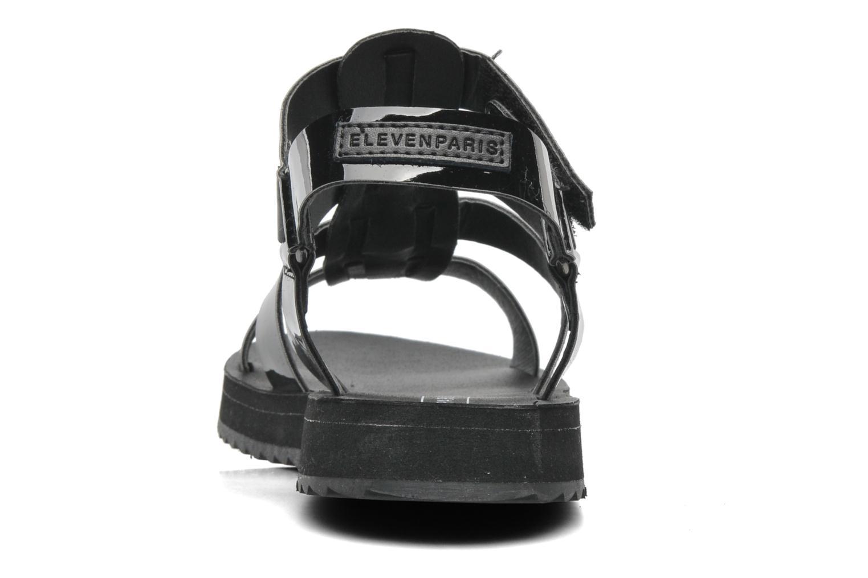 Sandales et nu-pieds Eleven paris Duse F Noir vue droite