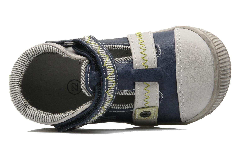 Bottines et boots Sucre d'Orge Axel Bleu vue gauche