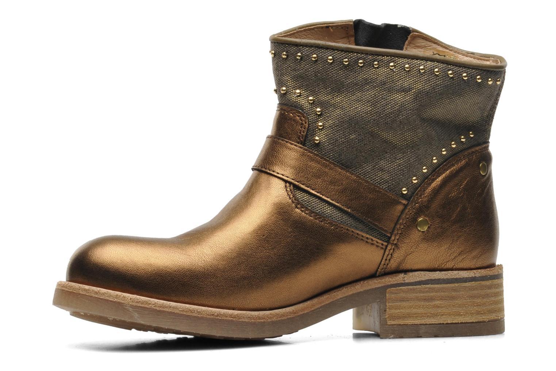 Boots en enkellaarsjes Koah Nelly Goud en brons voorkant