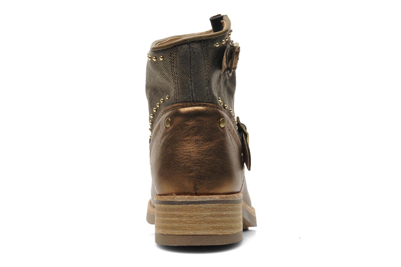 Boots en enkellaarsjes Koah Nelly Goud en brons rechts