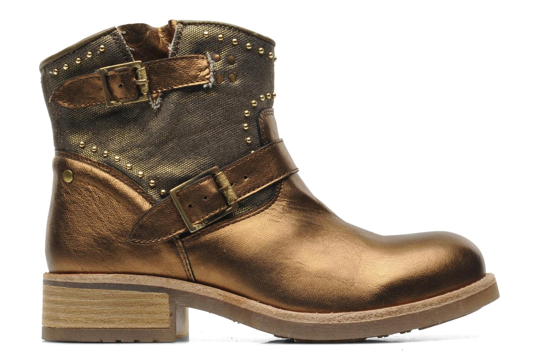Boots en enkellaarsjes Koah Nelly Goud en brons achterkant