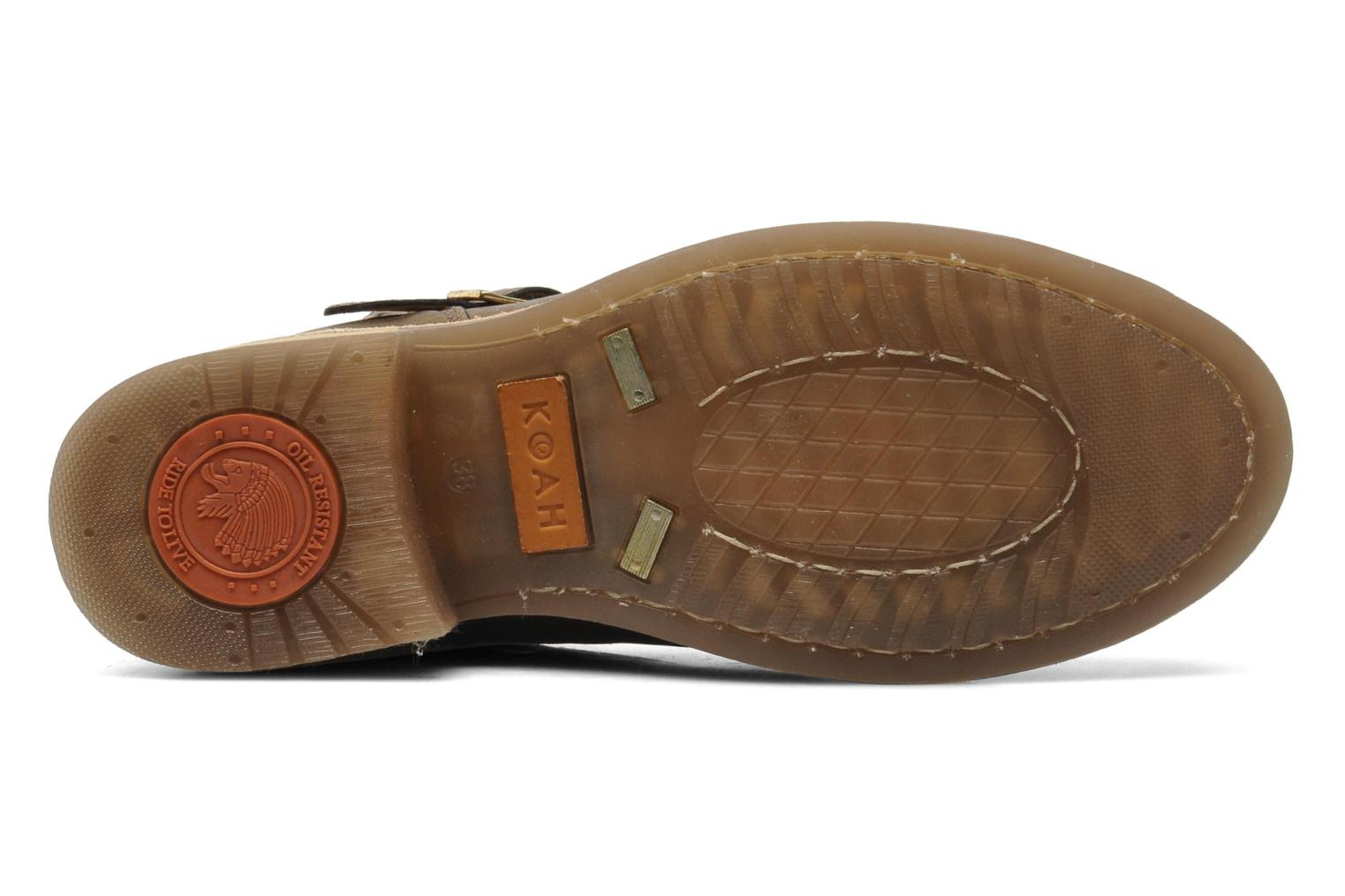 Nelly Leather Canvas Cobalto