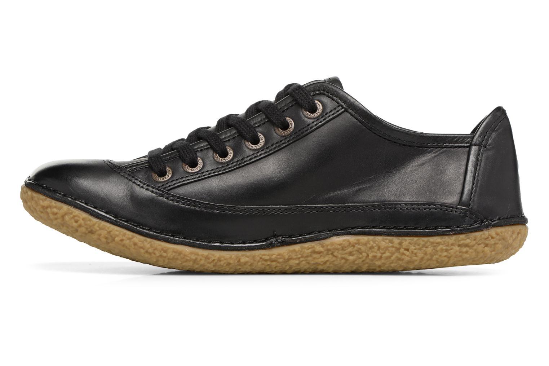 Zapatos con cordones Kickers Hollyday Negro vista de frente