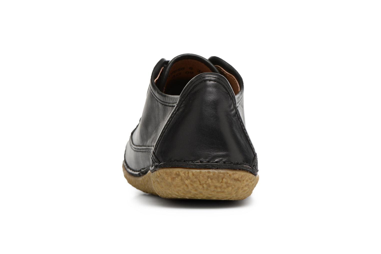 Snörade skor Kickers Hollyday Svart Bild från höger sidan