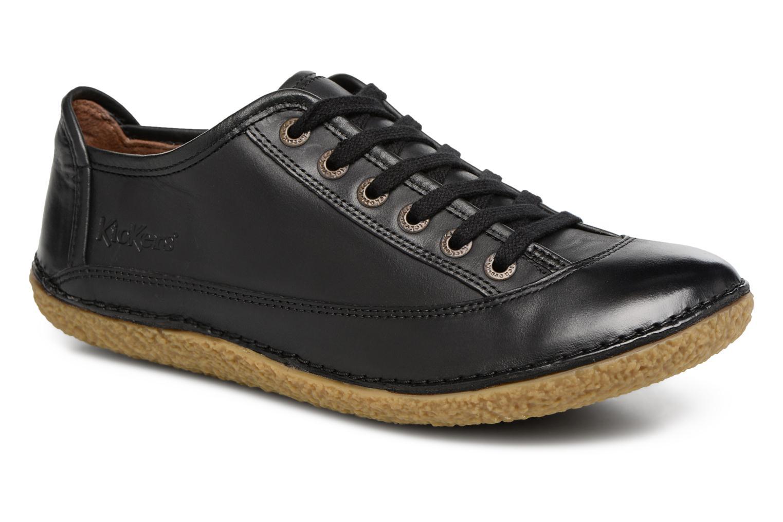 Kickers Hollyday (Noir) - Chaussures à lacets chez Sarenza (320365)