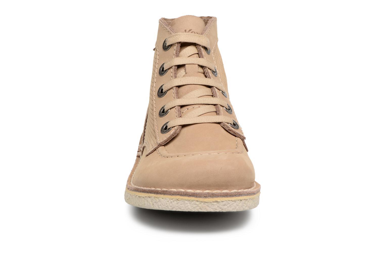 Chaussures à lacets Kickers Legendiknew Beige vue portées chaussures