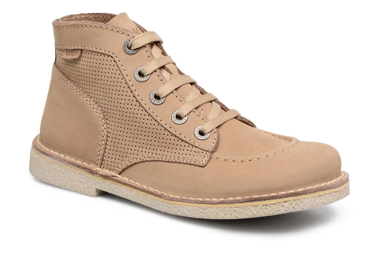 Zapatos promocionales Kickers Legendiknew (Beige) - Zapatos con cordones   Venta de liquidación de temporada