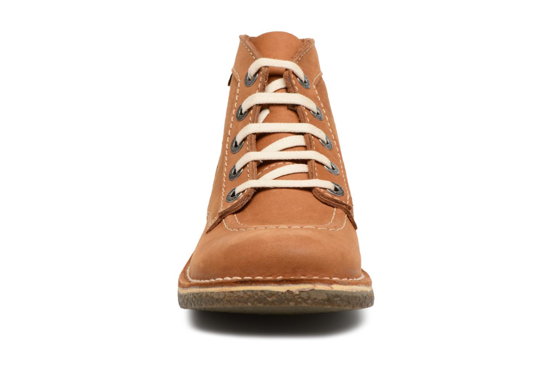 Chaussures à lacets Kickers Legendiknew Marron vue portées chaussures