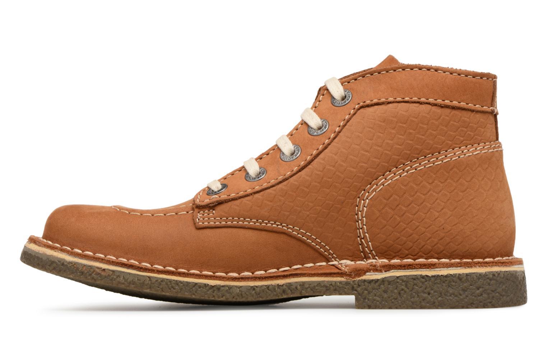 Chaussures à lacets Kickers Legendiknew Marron vue face