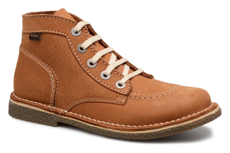 Zapatos de mujer baratos zapatos de mujer Kickers Legendiknew (Marrón) - Zapatos con cordones en Más cómodo