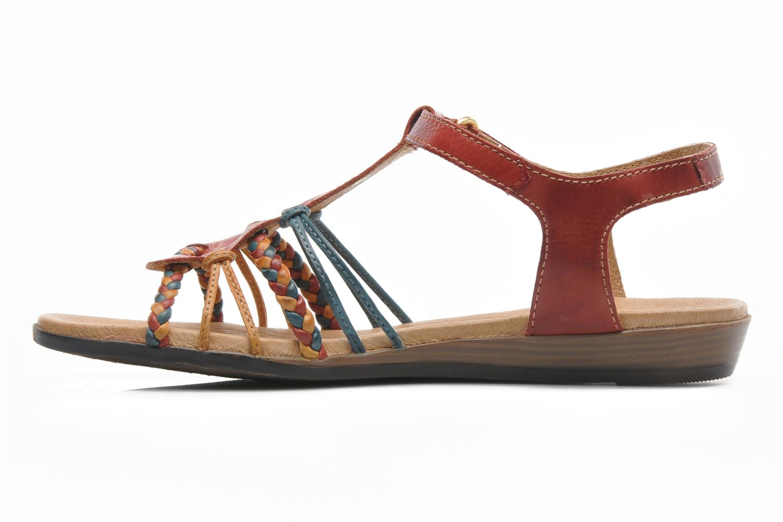 Sandales et nu-pieds Pikolinos Alcudia 816-0509 Multicolore vue face