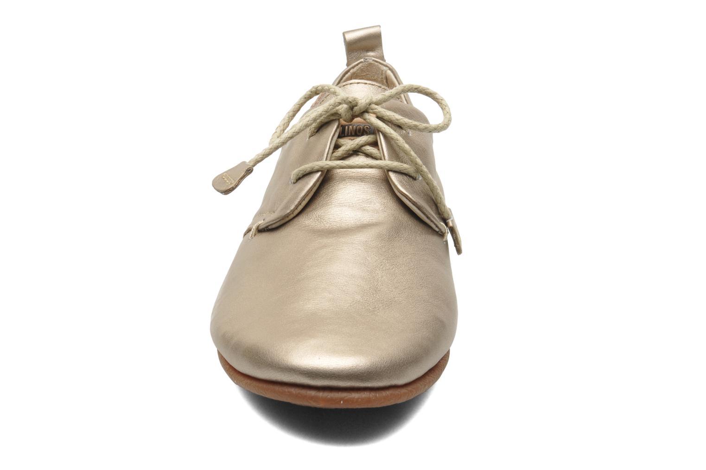 Chaussures à lacets Pikolinos Calabria 917-7123CL Or et bronze vue portées chaussures