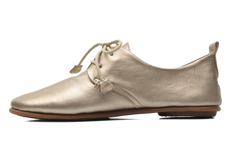 Chaussures à lacets Pikolinos Calabria 917-7123CL Or et bronze vue face