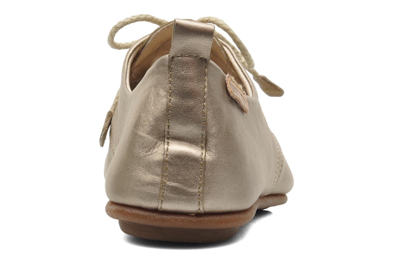 Chaussures à lacets Pikolinos Calabria 917-7123CL Or et bronze vue droite