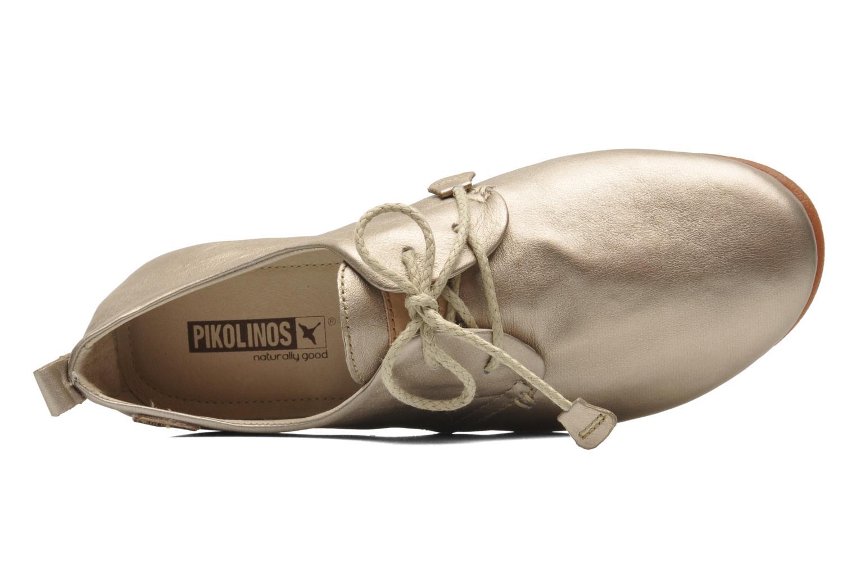 Chaussures à lacets Pikolinos Calabria 917-7123CL Or et bronze vue gauche