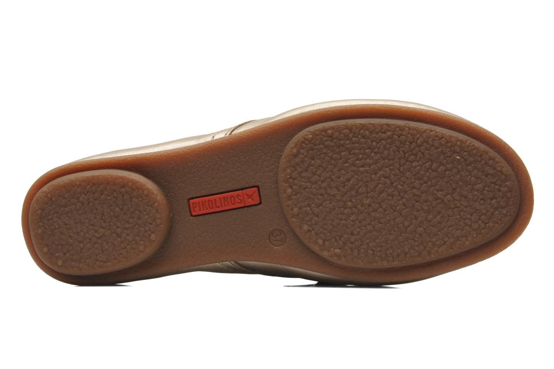 Chaussures à lacets Pikolinos Calabria 917-7123CL Or et bronze vue haut