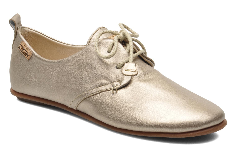 Chaussures à lacets Pikolinos Calabria 917-7123CL Or et bronze vue détail/paire