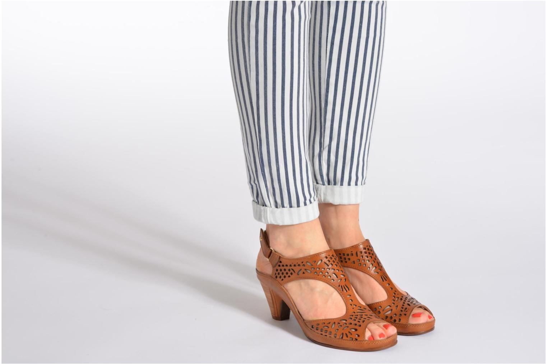 Sandales et nu-pieds Pikolinos Java W5A-0744 Marron vue bas / vue portée sac