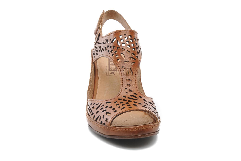 Sandales et nu-pieds Pikolinos Java W5A-0744 Marron vue portées chaussures