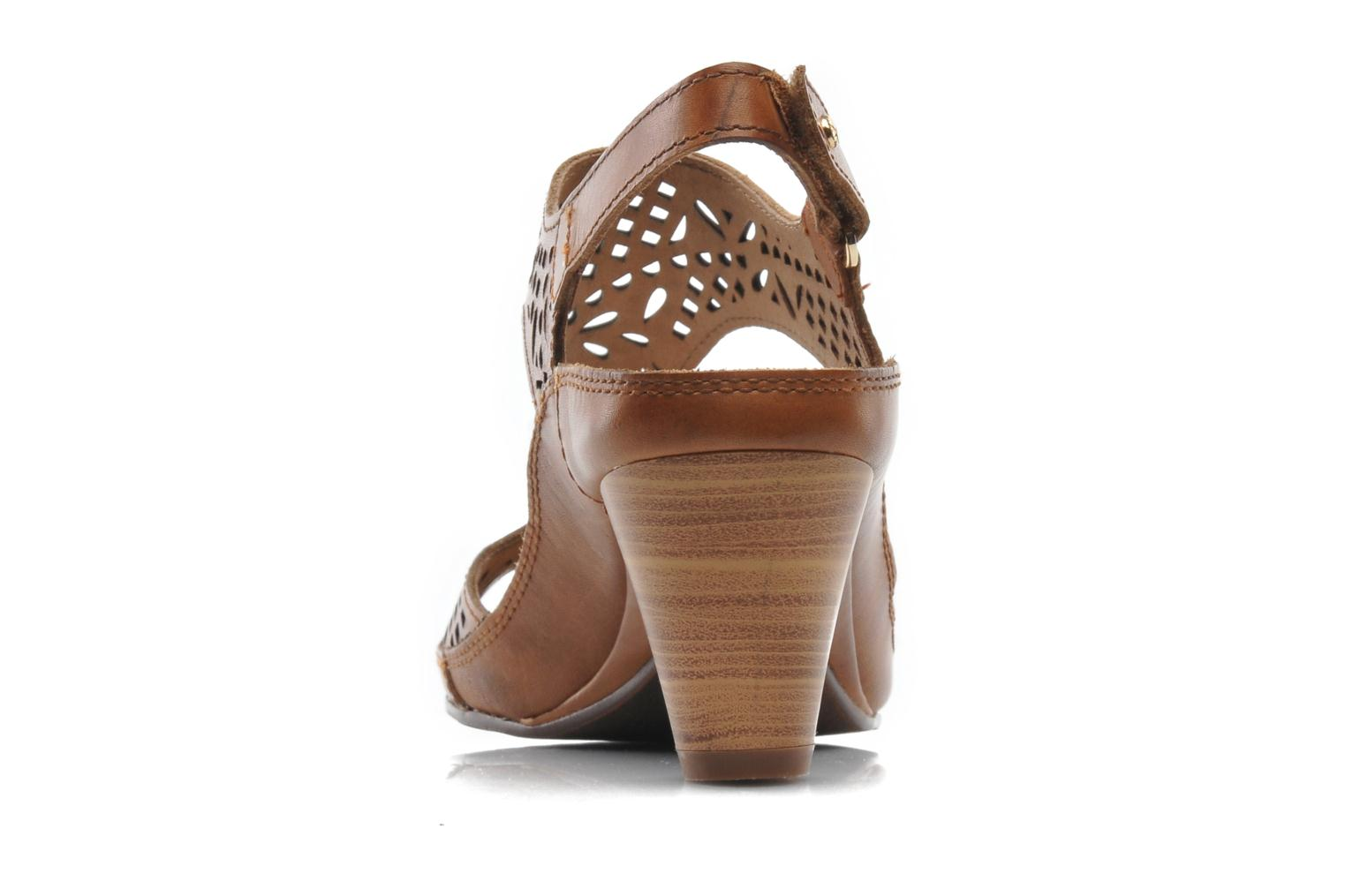 Sandals Pikolinos Java W5A-0744 Brown view from the right