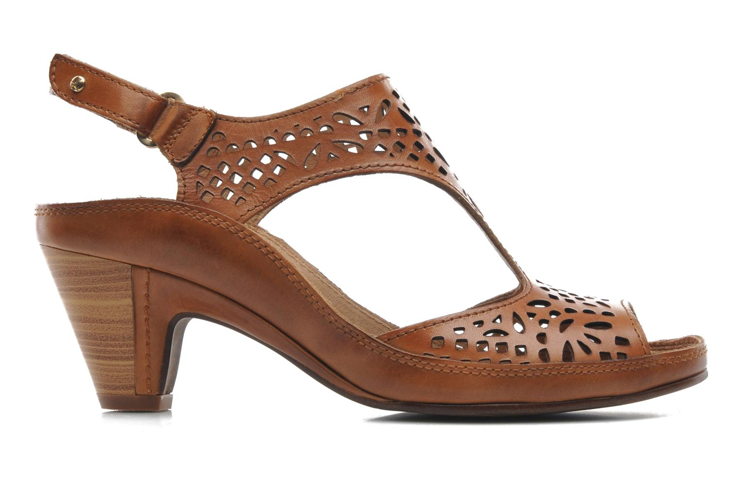 Sandals Pikolinos Java W5A-0744 Brown back view