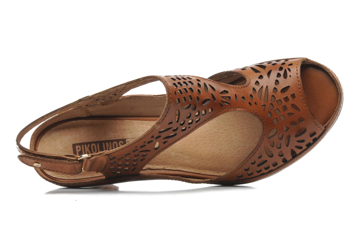 Sandals Pikolinos Java W5A-0744 Brown view from the left