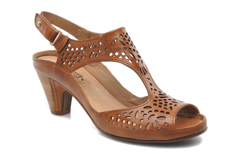 Sandales et nu-pieds Pikolinos Java W5A-0744 Marron vue détail/paire