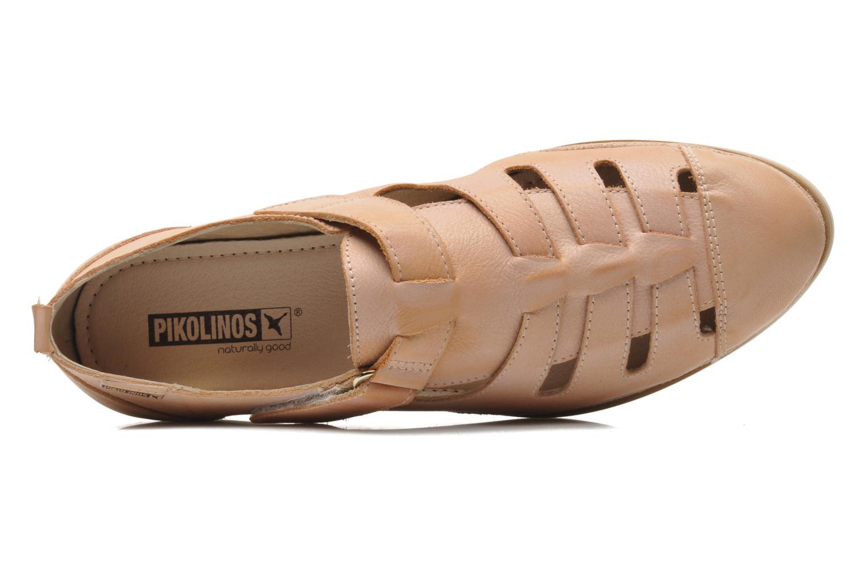 Sandales et nu-pieds Pikolinos Santorini W1B-1517KR Beige vue gauche