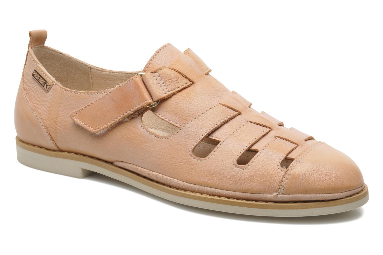 Sandales et nu-pieds Pikolinos Santorini W1B-1517KR Beige vue détail/paire
