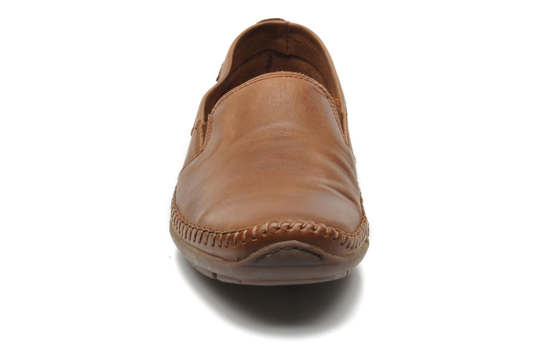 Mocassins Pikolinos Azores 06H-5303 Marron vue portées chaussures